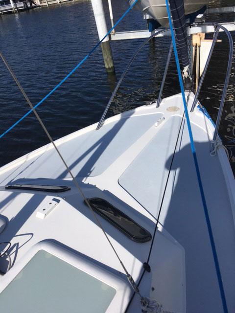 Rhodes 22, 2008 sailboat