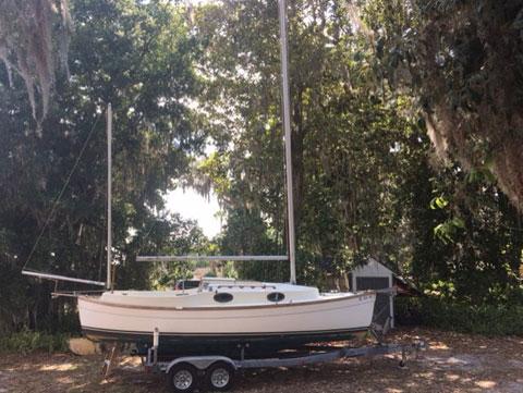 Rob Roy Canoe Yawl, 23 ft., 1986 sailboat