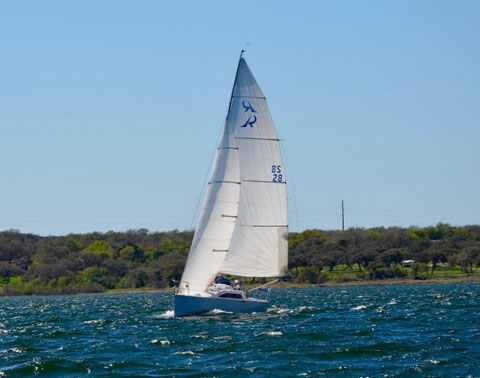 Ross 830 (8.3 meters/27.25 feet), 1986 sailboat