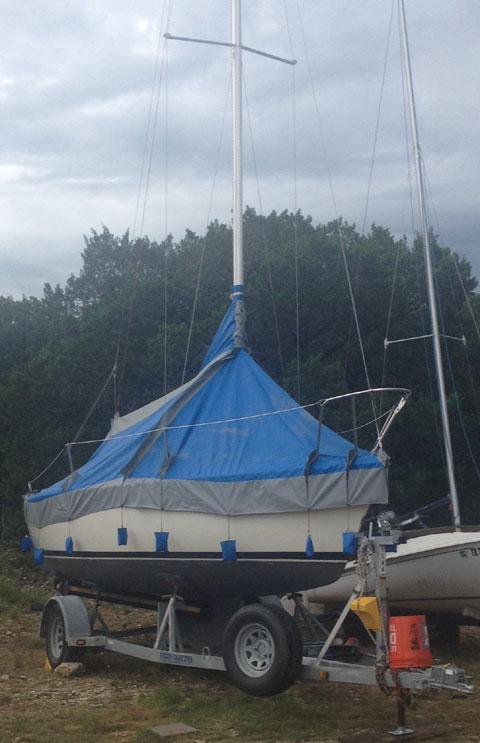 S2-22' 1987 sailboat