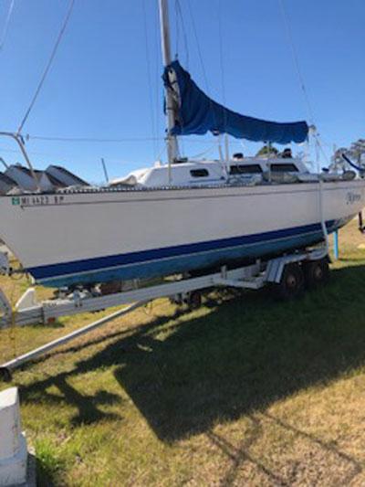 S2 7.9 meter (26ft) one design racer/cruiser, 1984 sailboat