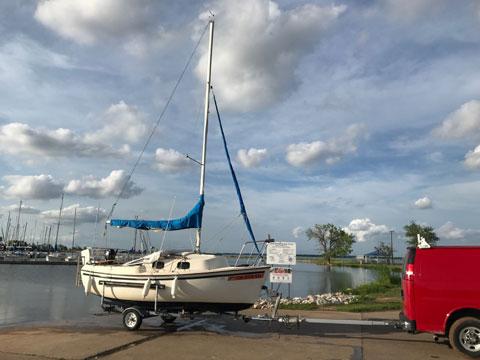 Sanibel 17/18, 1987 sailboat