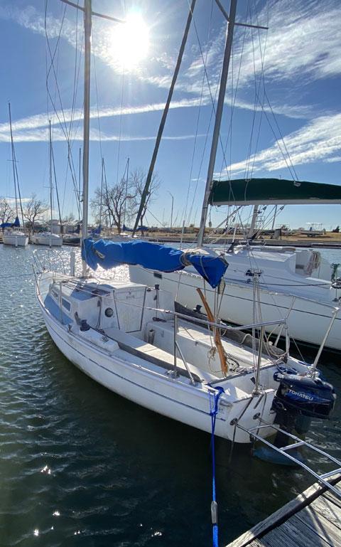 Santana 22, 1972 sailboat