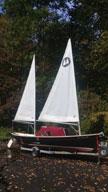 1992 Sea Pearl 21 sailboat