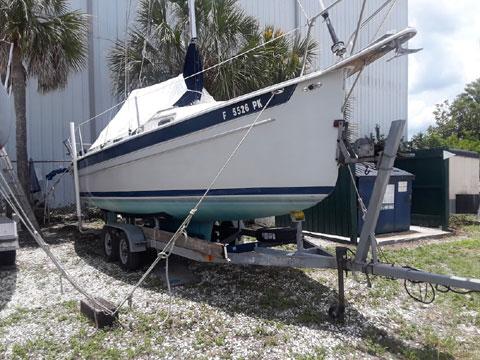 Seaward 25 wing keel, 1994 sailboat