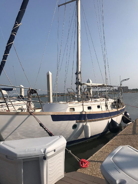 Slocum Cutter, 37 ft., 1987 sailboat