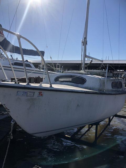 South Coast 22, 1977 sailboat