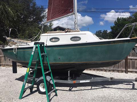 Sovereign 18, 1992 sailboat