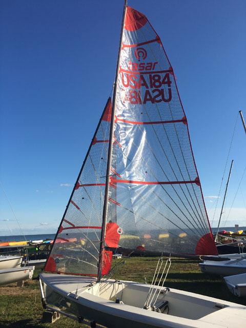 Tasar 15, 1975 sailboat