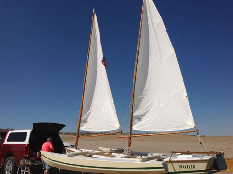 Trimaran, 18 ft., 2002 sailboat