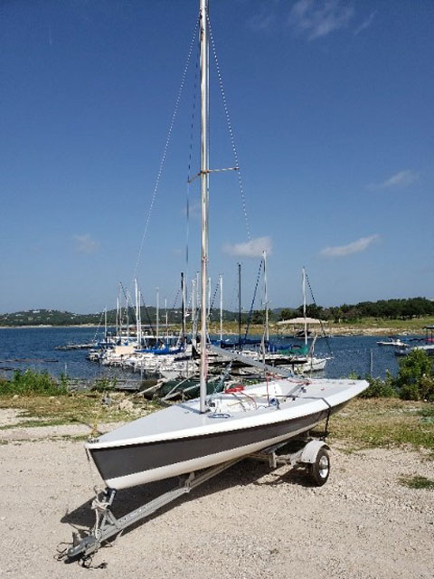 Vanguard 15, 2001 sailboat
