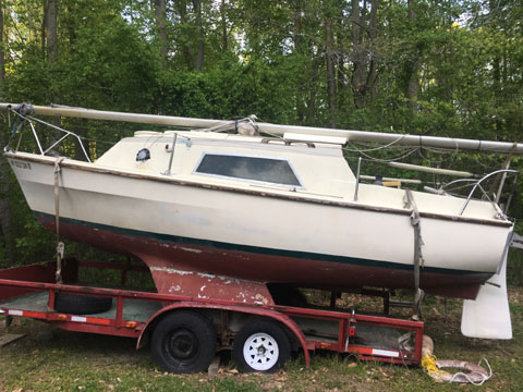 Westerly Warwick, 21ft, 1971 sailboat