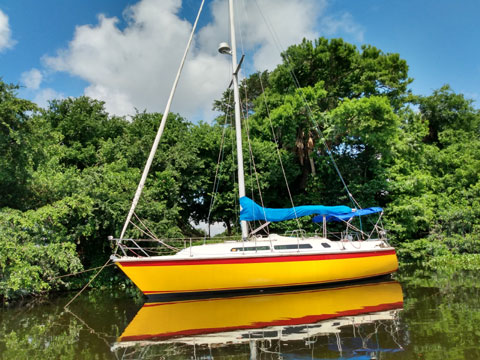 Westerly Falcon Sloop, 34', 1988 sailboat