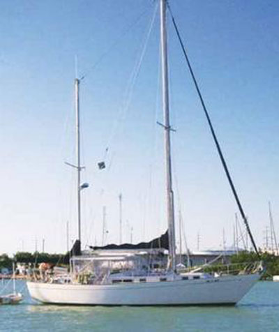 Whitby 42 CC Ketch, 1975 sailboat