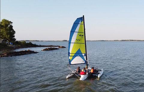 Windrider 17, 2003 sailboat