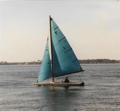 Y-Flyer, 2006 sailboat