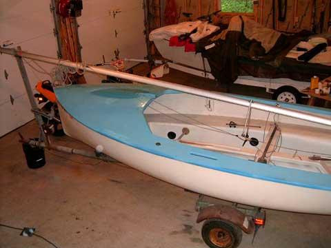 Albacore sailboat