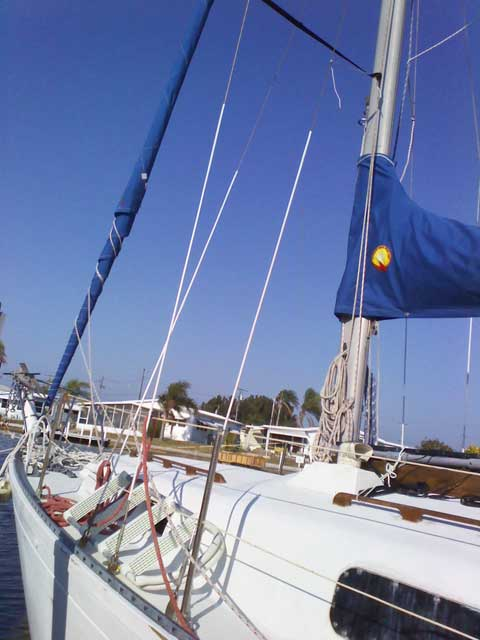 Aloha 28, 1973 sailboat