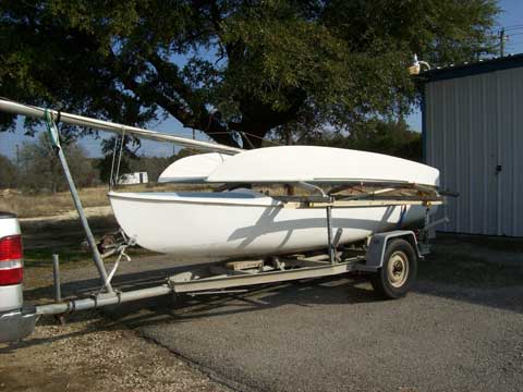 Aquadyne Sailbird trimaran, 1976 sailboat