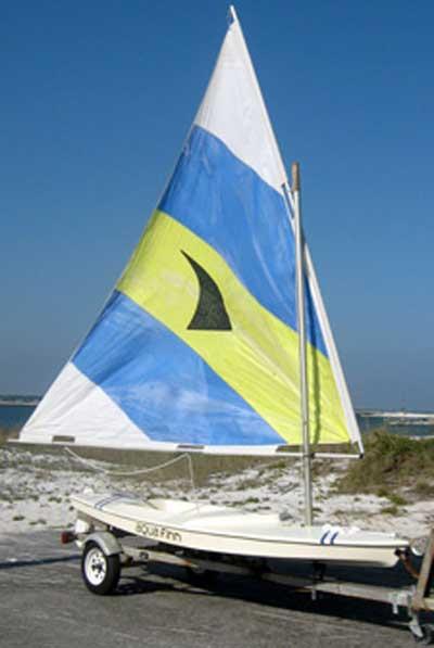 Aqua Finn Sailboat 13', 1993 sailboat