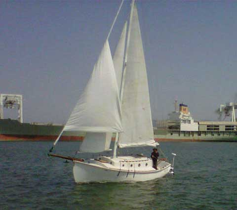 Aquarius Pilot Cutter 24 sailboat