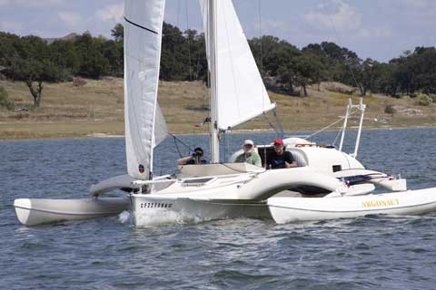 Argonauta 26 1992 sailboat VIDEO, click to start
