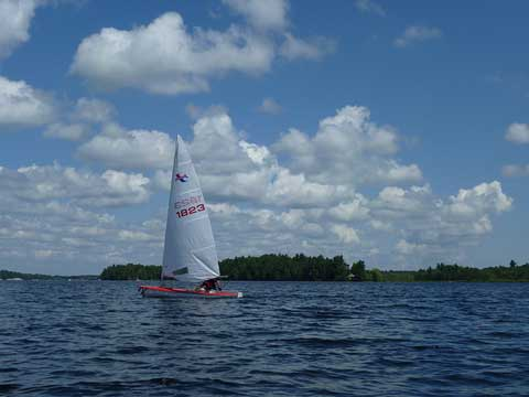 Banshee, 13 feet, 1975 sailboat