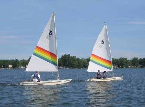 Barnett 1400, matching pair, 1995 sailboat