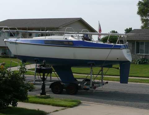 Bavaria 707, 1984 sailboat