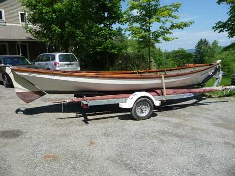 Beachcomber-Alpha Dory, 21' sailboat