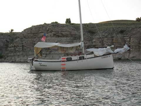 Blackwatch 23, 1981 sailboat