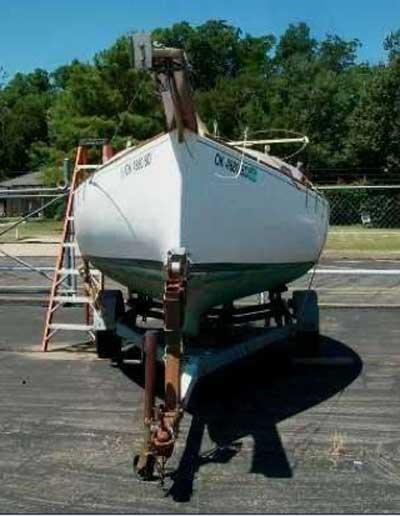 Bluewater Blackwatch, 24', 1980 sailboat