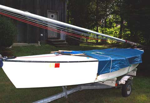 Blue Jay, 14' sailboat
