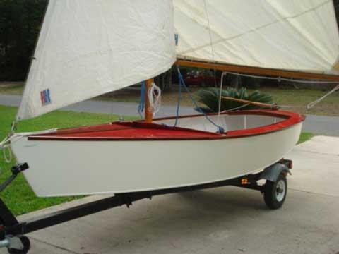 Blue Jay 14' sailboat