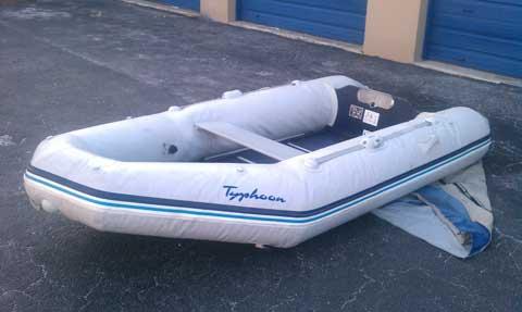 Typhoon by Bombard sailboat