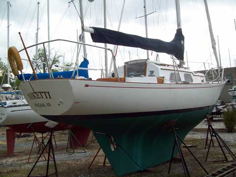 Bristol 29, 1968 sailboat