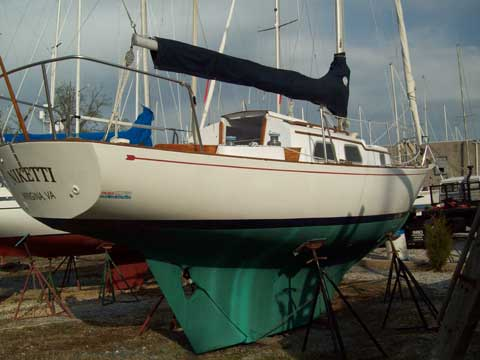Bristol 29 1968 Annapolis Maryland Sailboat For Sale