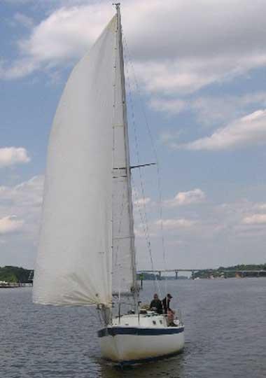 CAL 34, 1975 sailboat