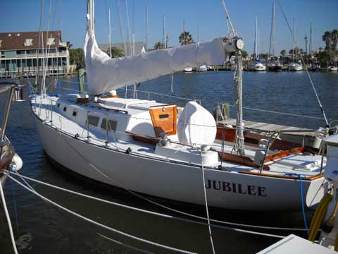 Cal 40, 1970, 40 foot, Rockport, Texas, sailboat for sale