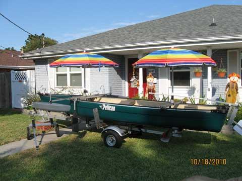 Canoe, 16ft., sailboat