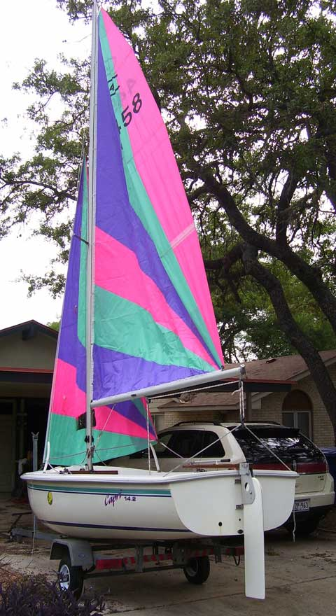 Catalina Capri 14.2, 1994 sailboat