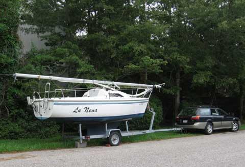 Catalina 18, 2003 sailboat