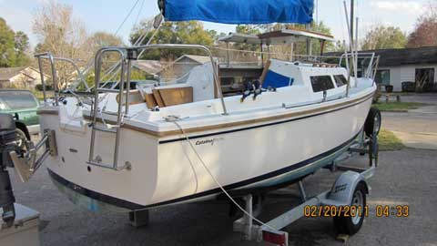 Catalina 22, 1987 sailboat