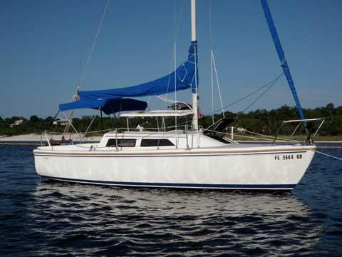 Catalina 22, wing keel, 1990, Pensacola, Florida, sailboat