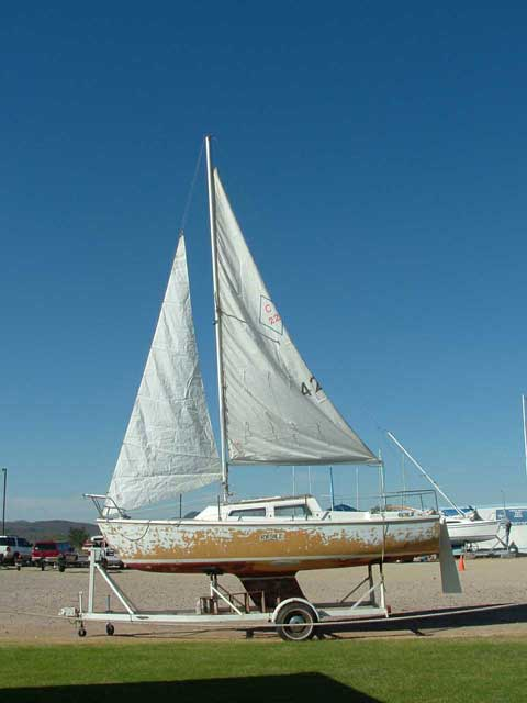 Catalina 22, 1972 sailboat