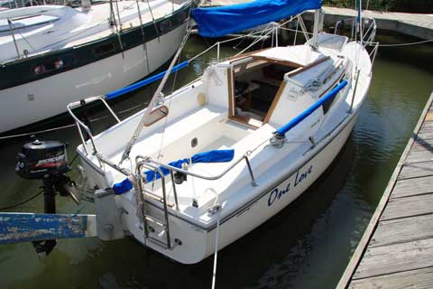 Catalina 22 Mk I 1992 Kemah Texas Sailboat For Sale