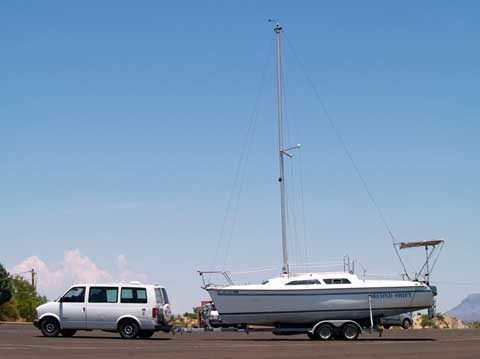 Catalina 250 WB, 1995 sailboat