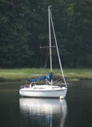 Catalina 250 WB, 1996 sailboat