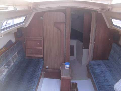 Catalina 25, Swing keel, 1985 sailboat