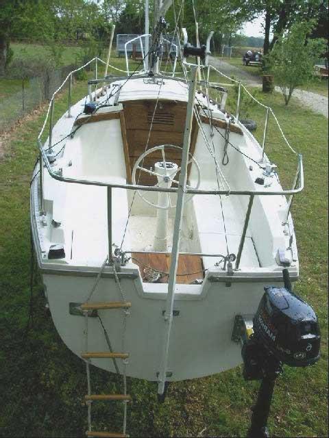 Catalina 25, 1980, Eufaula, Oklahoma, sailboat for sale ...